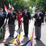 2007 Ceremony in Holland in honour of L/Cpl. Henry Eric Harden VC