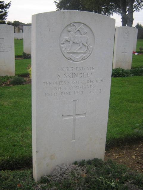 Private Sidney Skingley