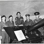 Sgt. Peter Foulger (tall and centre), TA 1963