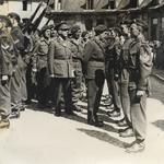 4 (Belgian) Troop No.10 (IA) Cdo inspection