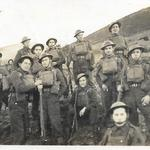 Belgian troops early training possibly at Malvern Hills