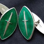 Commando souvenir cufflinks
