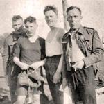 Unknown, Ben Fryer, Roy Sprague, and  John Stewart