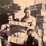 Stan Gartside and Arthur Matthews _ 43RM Commando MT section