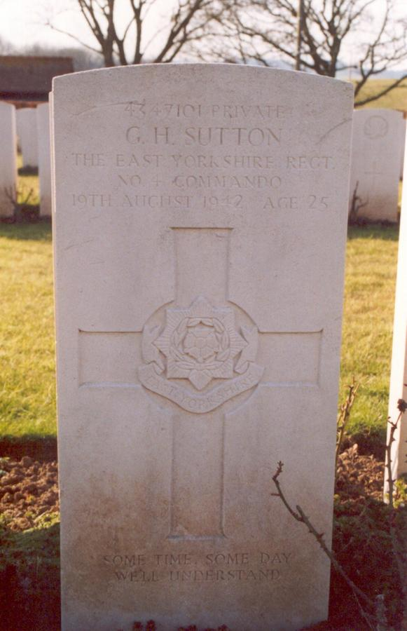 Private George Henry Sutton
