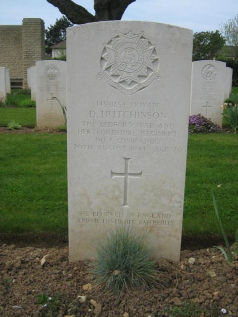 Private David Hutchinson