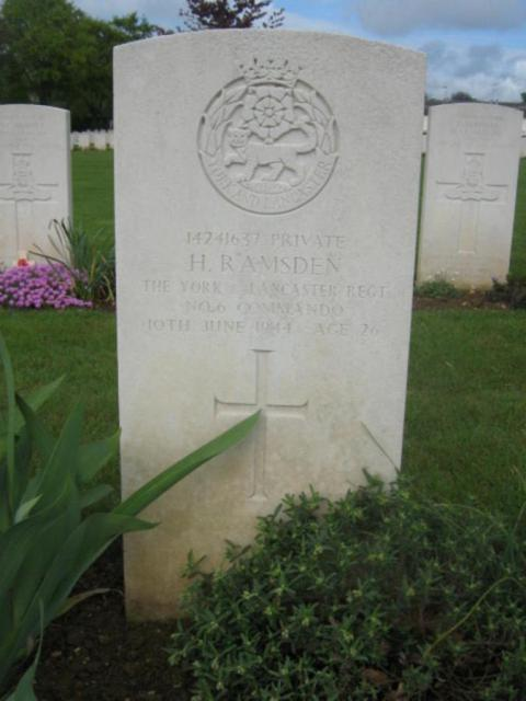 Private Harry Ramsden
