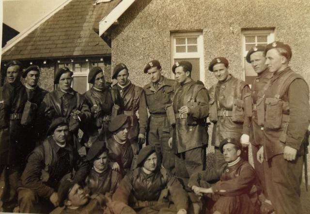 Section of No.10 (IA) Commando 6 (Polish) Troop in England.