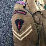 Part of the uniform of Cpl R.G. Insoll 44RM Commando