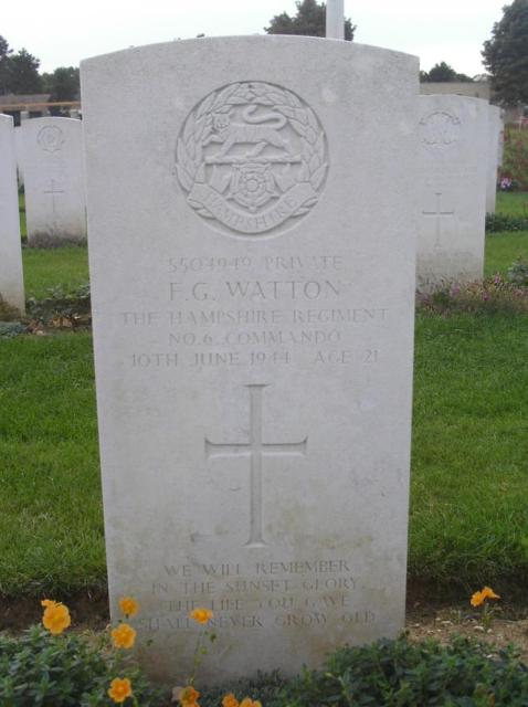 Private Frederick Watton