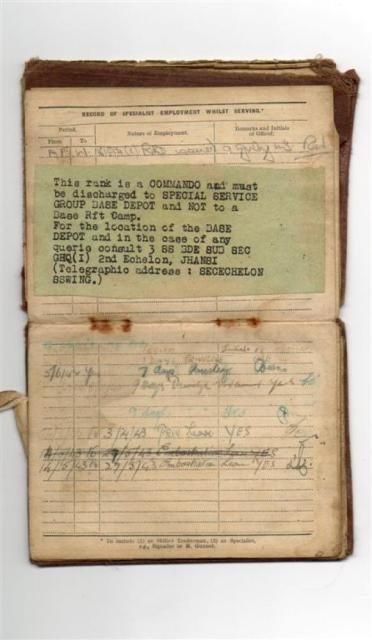 David Hudson's Army Paybook - 3