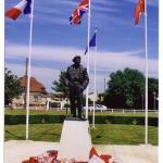 Montgomery statue ( Colleville-Montgomery - Calvados )