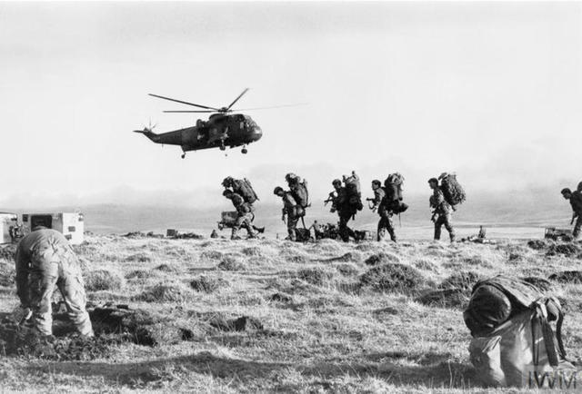 J Company, 42 Commando Falklands 28th May 1982
