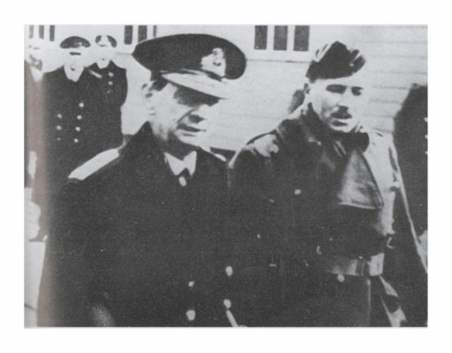 Admiral of the Fleet Lord Keyes and Brigadier John Durnford-Slater