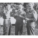 Brigadiers Derek Mills-Roberts , John Durnford-Slater, and Bernard Leicester