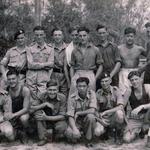 Mne Stan Worsley (bottom left) 45 Cdo. and others circa 1946 Hong Kong
