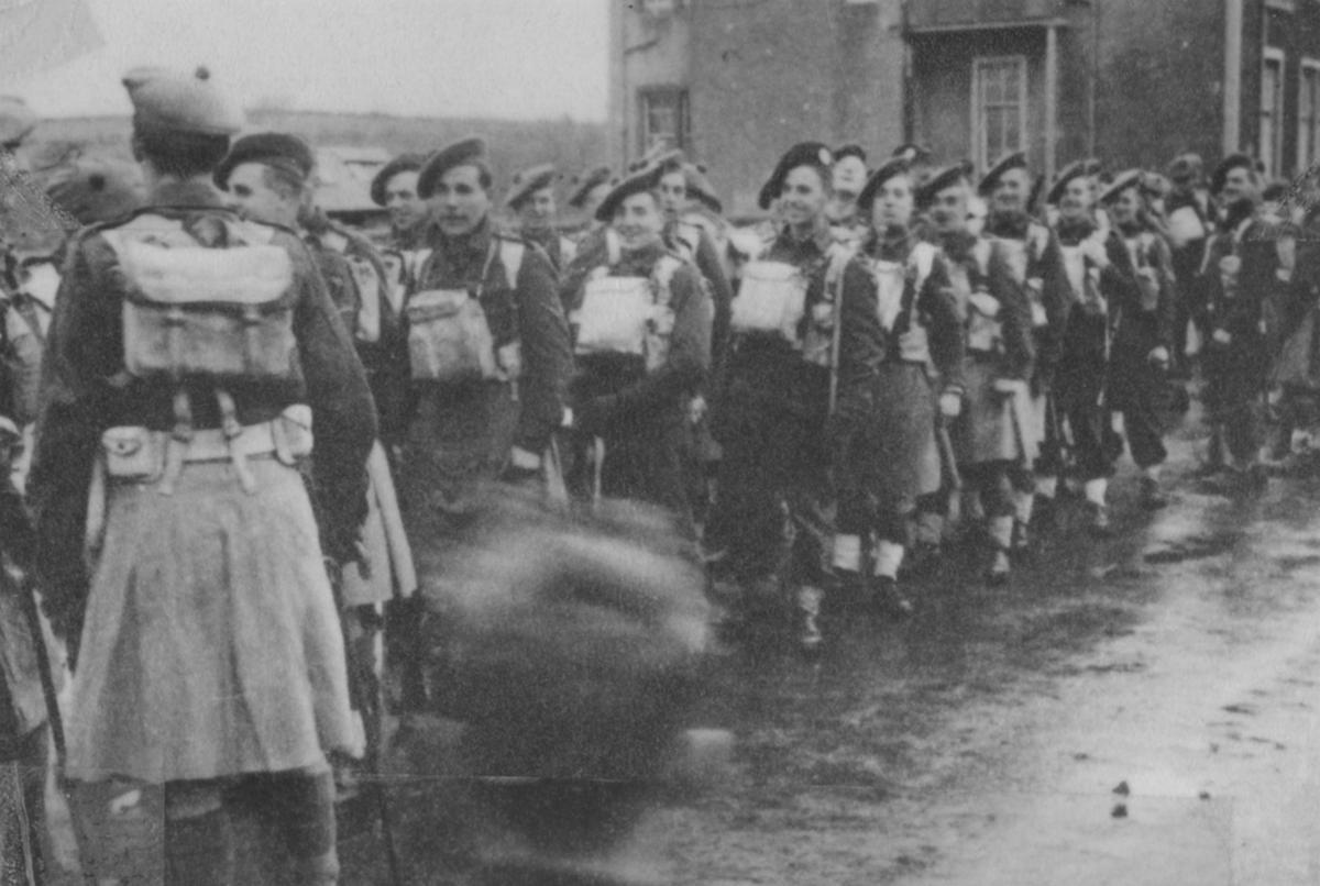 Kilts militaires WWII 2+Cdo+1941