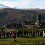 Remembrance services at Fort William and Spean Bridge