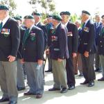 The Veterans form up.