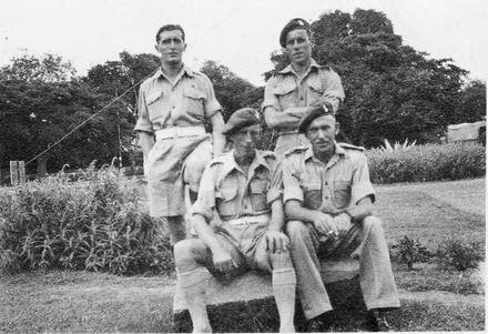 Four from No. 5 Commando