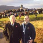 Roy and Stephen Donnison at the Commando Memorial 2007