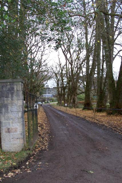 The Gates at Achnacarry