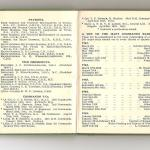 Pages 1 and 2 of the 1951 Commando Association Diary.