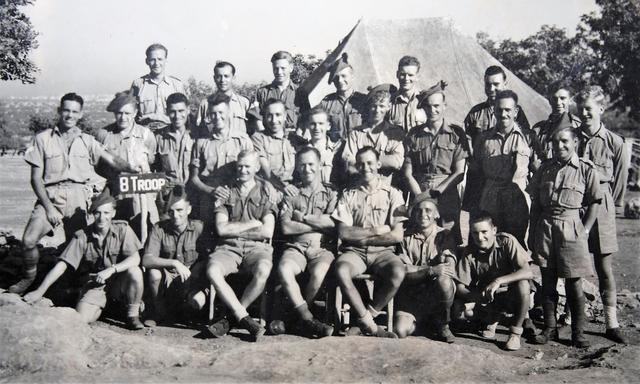 No.11 Commando  8 troop  -  Cyprus