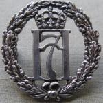 No.10 (IA) Commando 5 (Norwegian) Troop cap badge