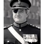 First Commanding Officer of 29 Cdo Regt RA - Denis O'Flaherty CBE DSO