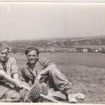 Oswald 'Micky' Rooney & J Barry at Beachy Head