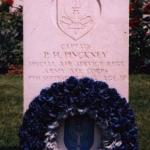 The grave of Captain Philip Hugh Pinckney