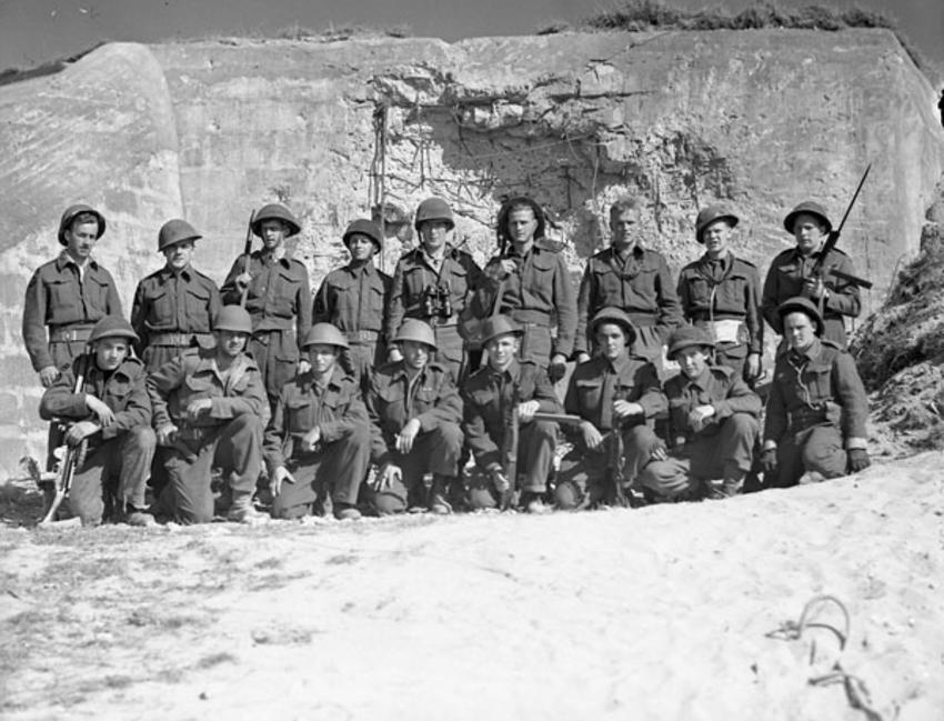 W-2 Party, Canadian Beach Commandos
