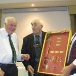 Presentation of Purple Heart to Harry Winch (1)