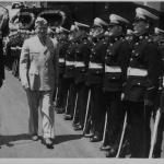 HMS Nelson. Algiers 1943