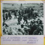 No.2 Cdos with captured German soldiers