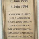 41RM Commando memorial, Lion  sur  Mer
