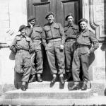 Ken Emmerson (4th from left) 1 SS Bde HQ
