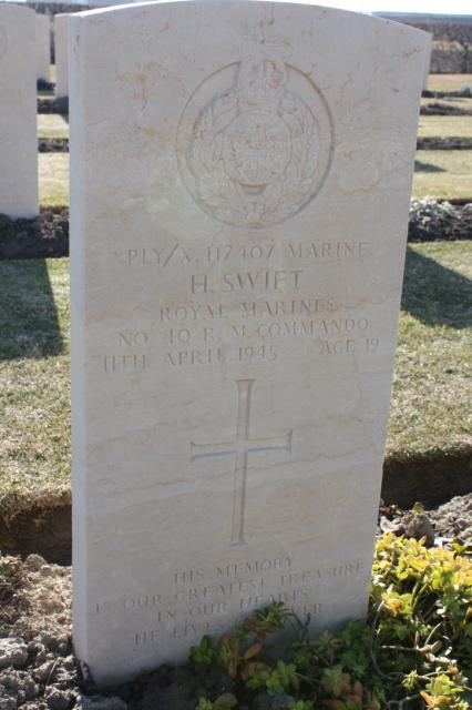 Marine Harold Swift