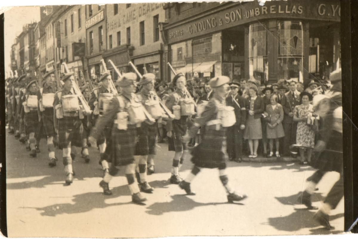 Kilts militaires WWII 5+trp+dumfries