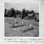 Graves of an unknown soldier from the 6th Airborne, an unknown  French Commando and L/Cpl Cassey No.6 Commando