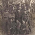 Charles Cox No.7 Commando and his comrades in Stalag IV-A