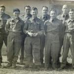 Eric Harper and other POW's at Stalag XV11A