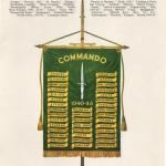 Commando Association Battle Honours Flag