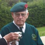 Billy Moore at the National Memorial Arboretum