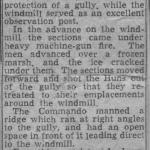 Newspaper article detailing the action involving Sgt. Noakes MM, 45RM Cdo