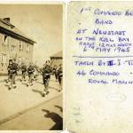 Pipes and Drums band at Neudstadt 6th May'45