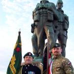 The Commando Memorial and The Standards.