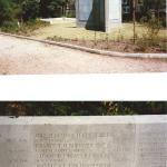 Memorial at Nunhead Cemetery