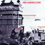 HMS Cambeltowns nearing her refit prior to the St Nazaire raid.